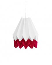 Lampa wisząca Summer Strawberry Stripe Orikomi papierowa oprawa wisząca origami