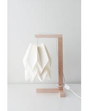 Lampa stołowa Plain Polar White Orikomi papierowa oprawa stołowa w stylu design