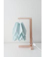 Lampa stołowa Plain Mint Blue Orikomi papierowa oprawa stołowa w stylu design
