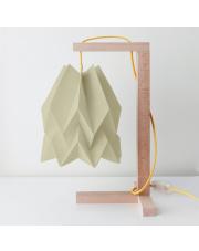 Lampa stołowa Plain Light Taupe Orikomi papierowa oprawa stołowa w stylu design