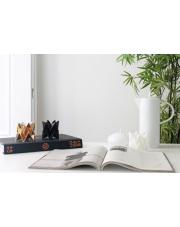 Tealights Polar White | Dark Black | Warm Gold Orikomi zestaw trzech dekoracyjnych papierowych świeczników
