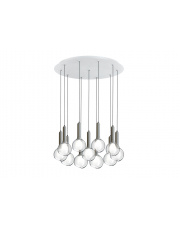 Lampa wisząca Luck R100.11 Estiluz szklana oprawa wisząca w stylu design