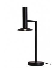 Lampa biurkowa Hat LP-1661/1P BK Light Prestige czarna designerska lampa biurkowa