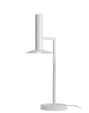 Lampa biurkowa Hat LP-1661/1P WH Light Prestige biała designerska lampa biurkowa