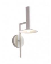Kinkiet Hat LP-1661/1W WH Light Prestige biała designerska lampa na ścianę