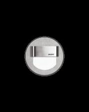 Oprawa schodowa Rueda Skoff okrągła oprawa w kolorze stalowym