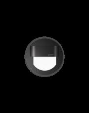 Oprawa schodowa Rueda Skoff okrągła oprawa w kolorze czarnym