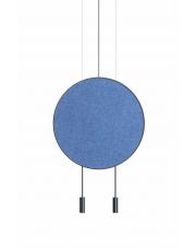 Lampa wisząca Revolta T-3636 Blue Estiluz dekoracyjna oprawa ledowa w stylu design