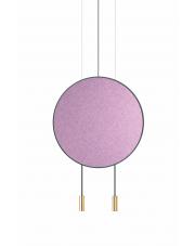 Lampa wisząca Revolta T-3636 Eggplant Estiluz dekoracyjna oprawa ledowa w stylu design