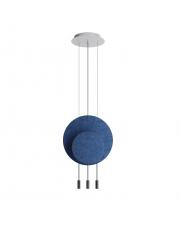 Lampa wisząca Revolta R40.1S1D Estiluz dekoracyjna oprawa ledowa z panelami w stylu design
