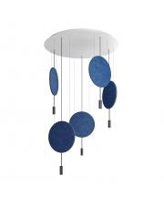 Lampa wisząca Revolta R100.5S Estiluz dekoracyjna oprawa ledowa z panelami w stylu design