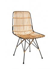 Krzesło rattanowe z metalową ramą Kubu 1100228 Dutchbone