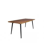 Stół duży z drewna orzechowego Alagon różne wymiary Dutchbone