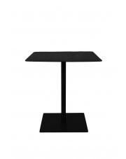 Stolik kwadratowy na nóżce Braza 2100092 czarny stolik bistro Dutchbone