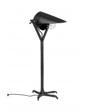 Lampa stołowa stylizowana Falcon 5200063 metalowa czarna oprawa biurkowa Dutchbone