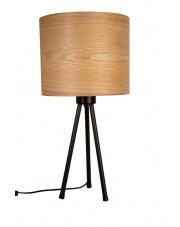 Lampa stołowa z metalową podstawą Woodland 5200011 lampa biurkowa jesion Dutchbone
