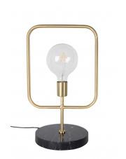 Lampa stołowa minimalistyczna Cubo 5200028 lampa biurkowa z marmurową podstawą Dutchbone