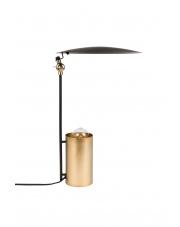 Lampa biurkowa czarno-złota Julius 5200060 lampa stołowa w stylu vintage Dutchbone