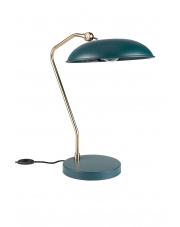 Lampa biurkowa w kolorze morskim Liam 5200062 lampa stołowa w stylu vintage Dutchbone