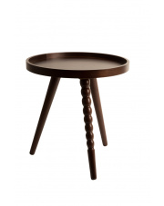 Stolik kawowy ciemnobrązowy Arabica S 2200003 stolik do salonu Dutchbone