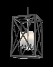 Lampa wisząca Dublin P04117CH COSMOLight designerska nowoczesna oprawa wisząca
