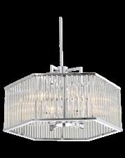 Lampa wisząca Glasgow P06384CH COSMOLight luksusowa niklowana oprawa wisząca