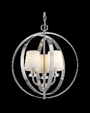 Lampa wisząca Berlin P03967CH COSMOLight designerska dekoracyjna oprawa wisząca