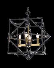 Lampa wisząca Nashville P04247BK AU COSMOLight dekoracyjna oryginalna oprawa wisząca