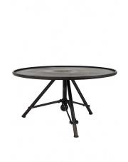 Stolik kawowy w stylu vintage Brok 2300048 stolik z drewna tekowego Dutchbone