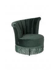Fotel w kolorze ciemnozielonym Flair 3100051 Dutchbone