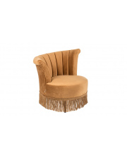 Fotel w kolorze złotego brązu Flair 3100052 Dutchbone