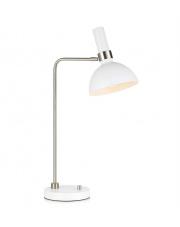 Lampa stołowa Larry 107502 Markslojd biała nowoczesna oprawa stołowa