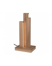 Lampa stołowa Manhattan 7481174 SPOTlight Premium Collection designerska drewniana oprawa stołowa