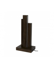 Lampa stołowa Manhattan 7481976 SPOTlight Premium Collection designerska drewniana oprawa stołowa