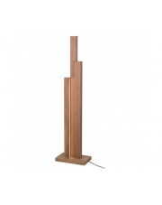 WYSYŁKA 24H! Lampa podłogowa Manhattan 6481174 SPOTlight Premium Collection designerska drewniana oprawa stojąca