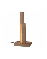 Lampa stołowa Manhattan 7482174 SPOTlight Premium Collection designerska drewniana oprawa stołowa