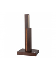 Lampa stołowa Manhattan 7482976 SPOTlight Premium Collection designerska drewniana oprawa stołowa