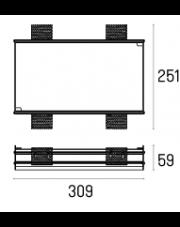 Rama montażowa 4.2101 do lampy wpuszczanej Lava WP Trimless X2 Labra
