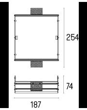 Rama montażowa 4.2103 do lampy wpuszczanej Solid Area 2.0 WP Labra