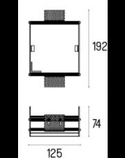 Rama montażowa 4.2106 do lampy wpuszczanej Solid Lightbox 135.1 WP Labra
