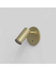 Kinkiet Micro Recess 1407010 Astro Lighting nowoczesna oprawa w kolorze matowego złota