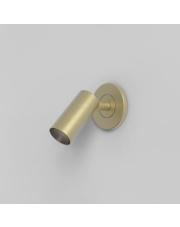 Kinkiet Micro Recess 8622 Astro Lighting nowoczesna oprawa w kolorze matowego złota