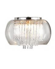 OUTLET Plafon Rego 3957-1X AZzardo szklana dekoracyjna oprawa sufitowa