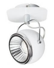 OUTLET Kinkiet Ball 2686182 Spotlight minimalistyczna biała oprawa ścienna