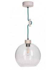 OUTLET Lampa wisząca Svea 1356332 SPOTLight drewniana nowoczesna oprawa wisząca