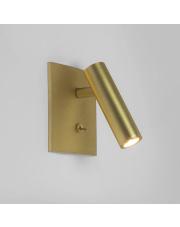 Kinkiet Enna Square 1058030 Astro Lighting nowoczesna oprawa w kolorze matowego złota