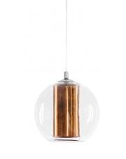 OUTLET Lampa wisząca Merida L 10395117 oprawa wisząca miedziana Kaspa