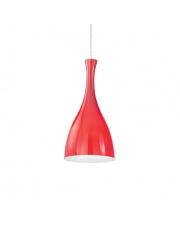 OUTLET Lampa wisząca Olimpia Ideal Lux stylowa szklana oprawa wisząca