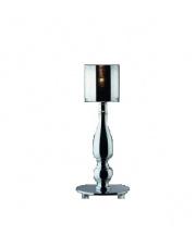 OUTLET Lampa stołowa Duca TL1 Ideal Lux chromowa designerska oprawa stołowa
