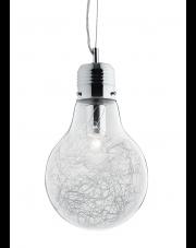 OUTLET Lampa wisząca Luce Max SP1 Small 033679 Ideal Lux nowoczesna oprawa w kolorze aluminium